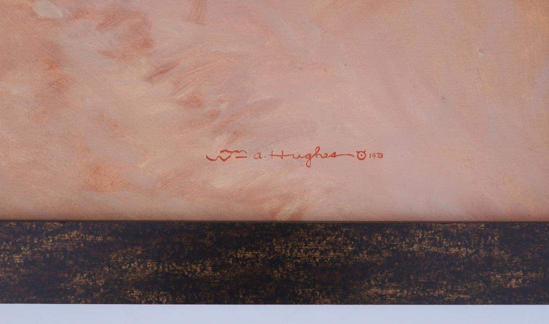 Bill Hughes (CA/AZ, 1932-1992) Framed Oil painting - 3