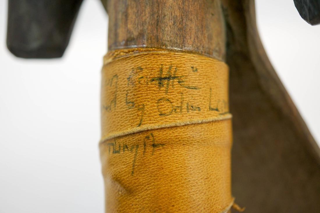 Odin Lonning Signed Tlingit Rattle - 4