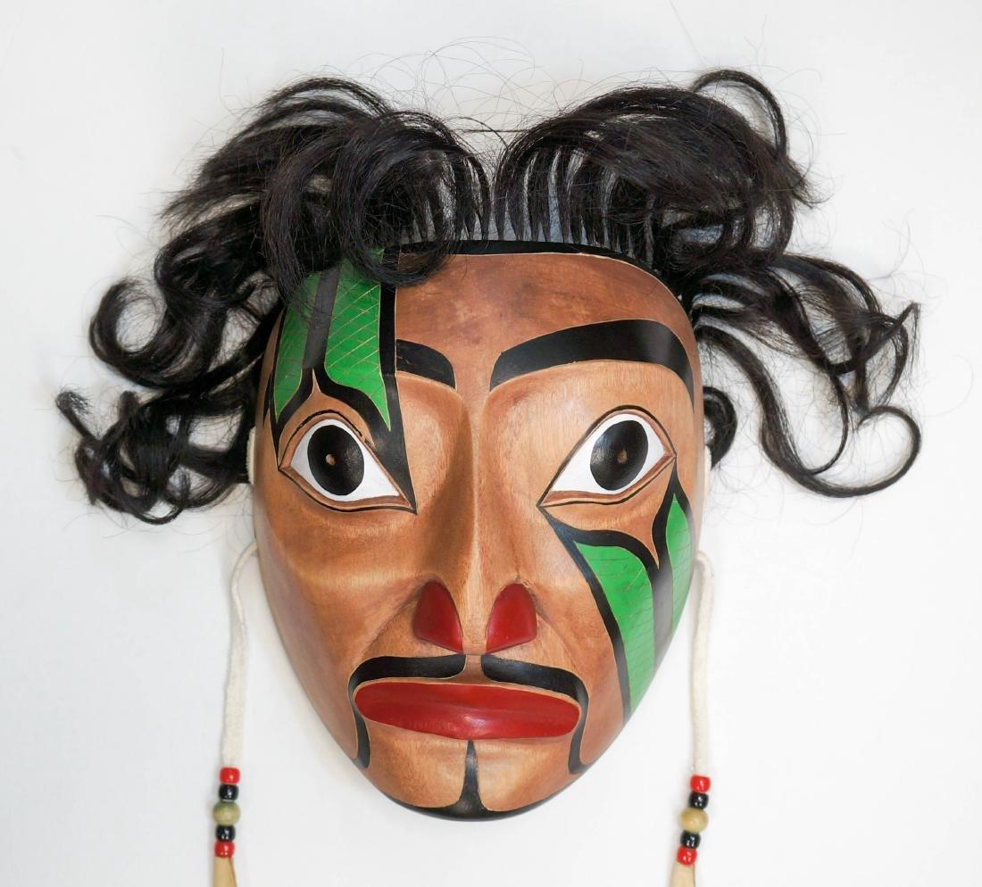 Jeff Alec Signed Portrait Mask