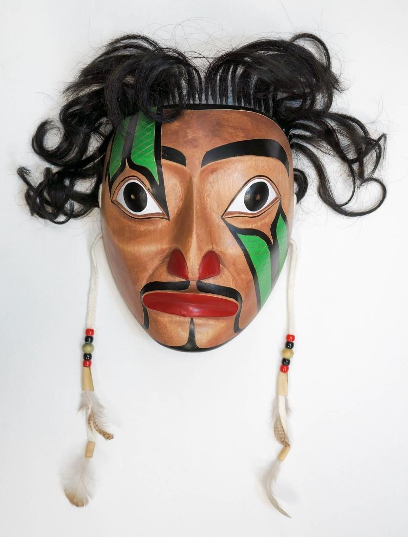 Jeff Alec Signed Portrait Mask - 2