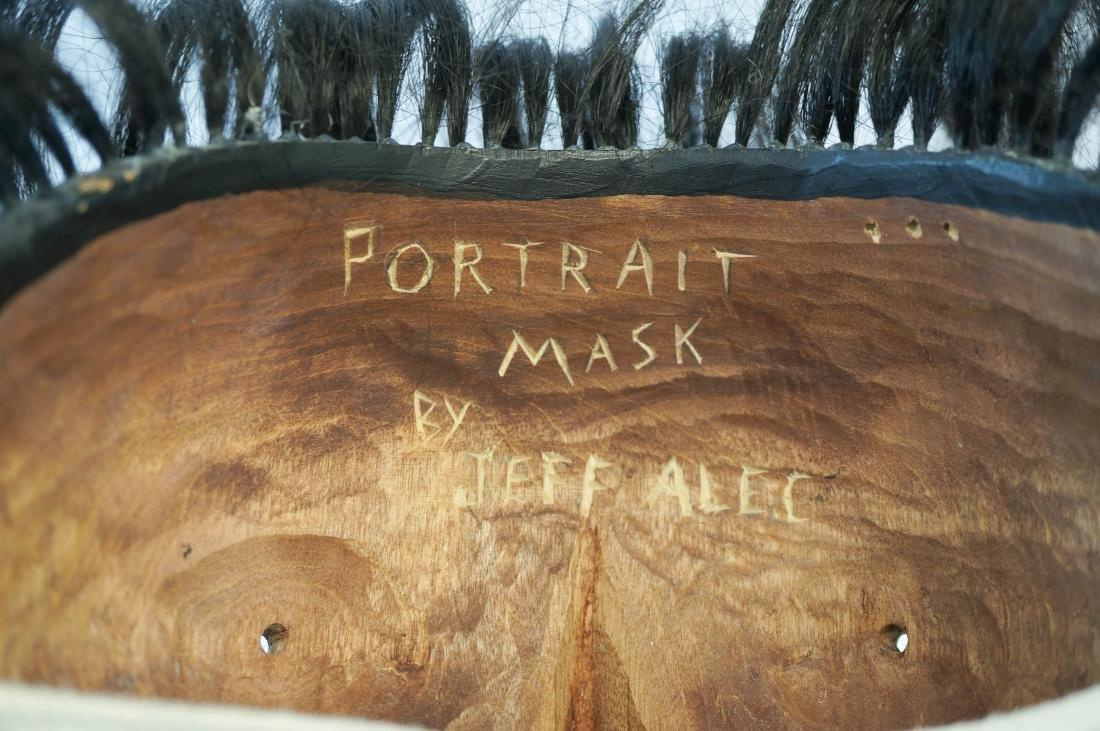 Jeff Alec Signed Portrait Mask - 3