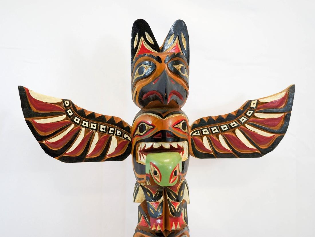 Shandley Williams Northwest Coast Signed Totem - 3
