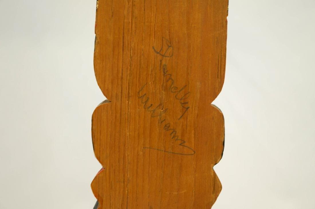 Shandley Williams Northwest Coast Signed Totem - 4