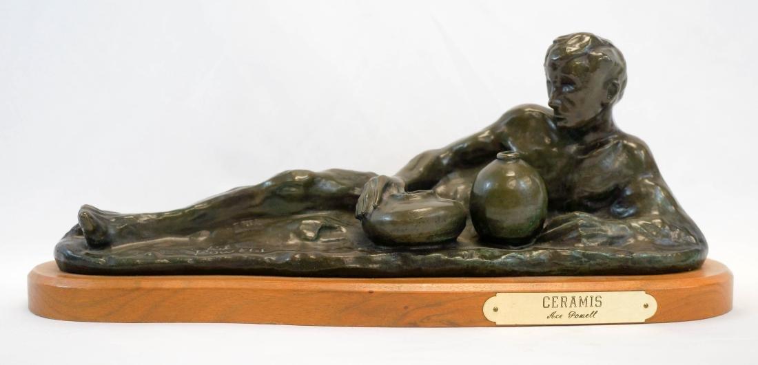 Ace Powell (1912-1978) Bronze [Ceramis] - 2