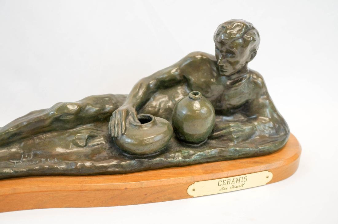 Ace Powell (1912-1978) Bronze [Ceramis] - 3