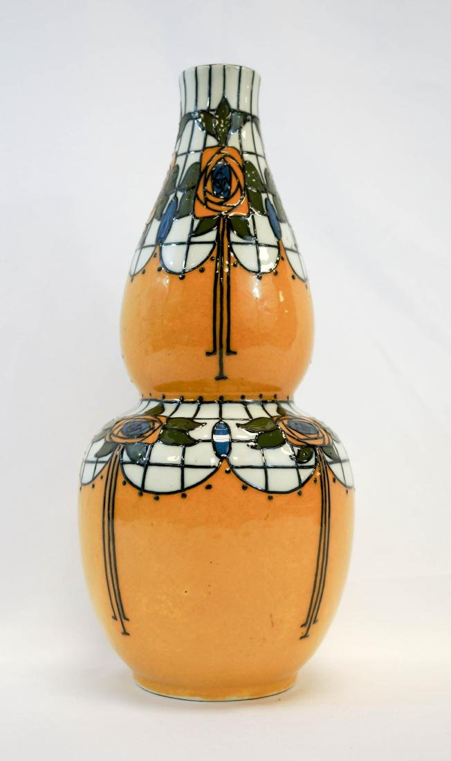 Frederick Rhead Trellis Vase for Wood & Sons