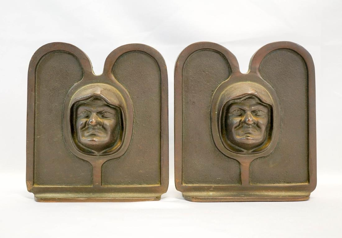 Brost, Cleveland Signed Bookends
