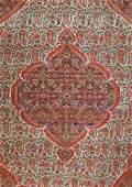 Early 1900s Senneh Oriental Rug