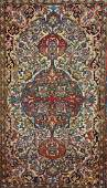 Isfahan Oriental Rug, Last Quarter 19th Century
