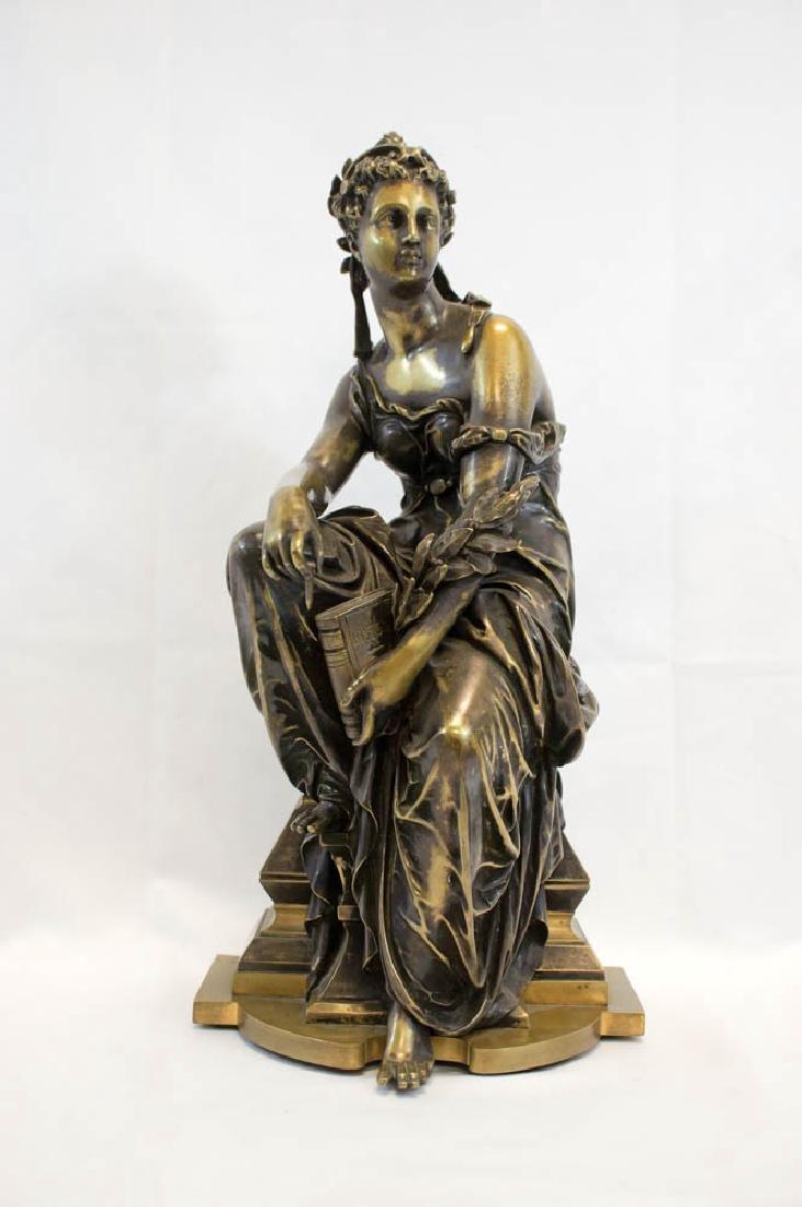 Eutrope Bouret (1833-1916) Bronze Figure