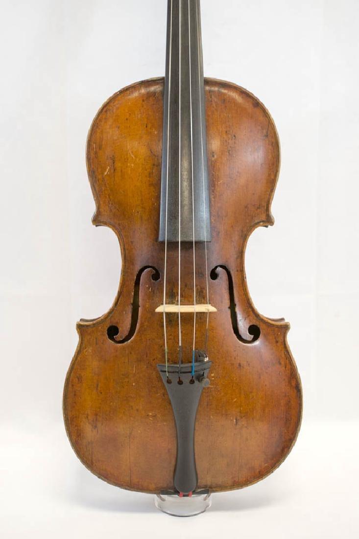 A Violin by Johann Georg Thir