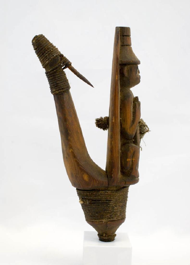 Antique Tlingit Northwest Coast Halibut Hook - 2