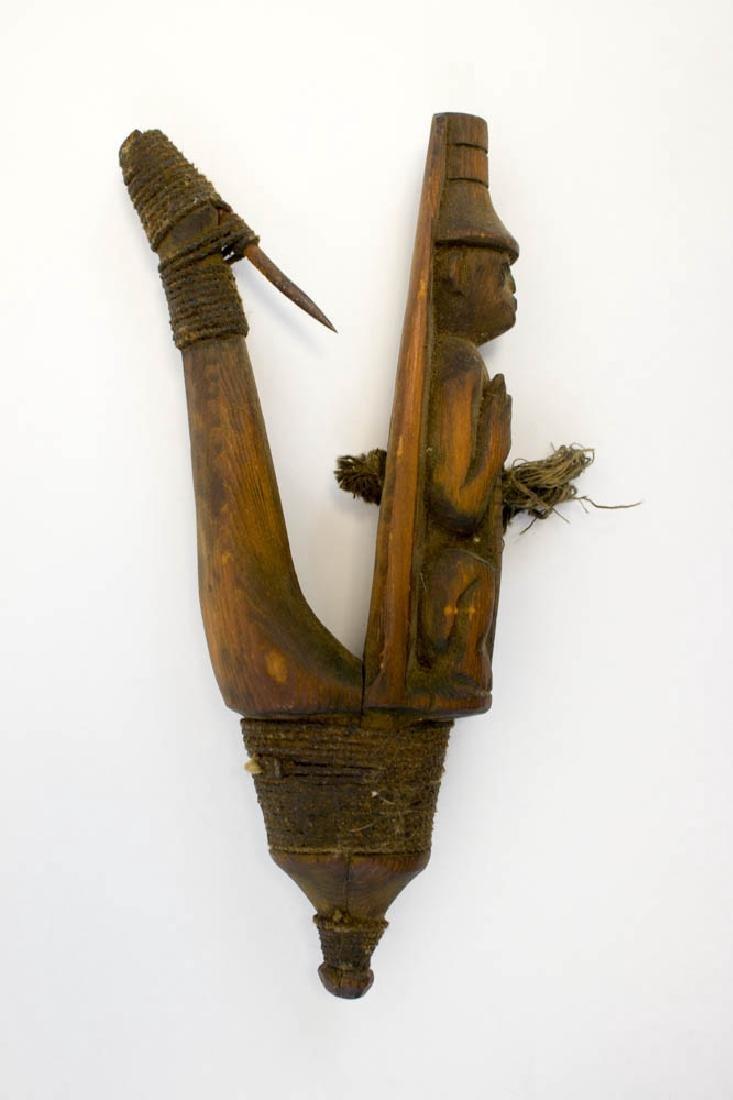 Antique Tlingit Northwest Coast Halibut Hook - 3