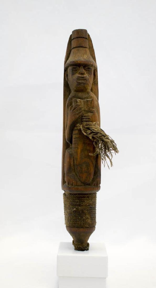 Antique Tlingit Northwest Coast Halibut Hook - 4