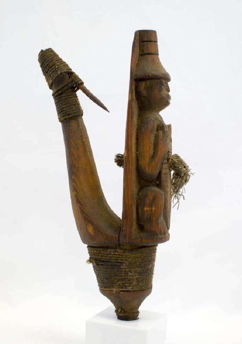 Antique Tlingit Northwest Coast Halibut Hook - 5