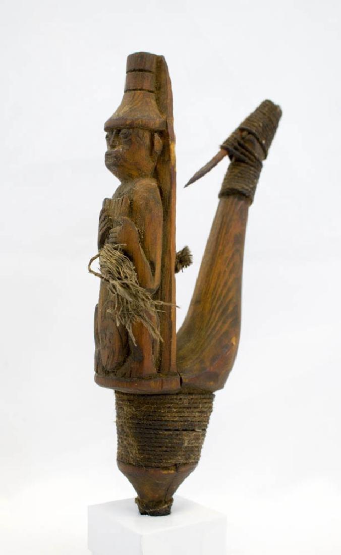 Antique Tlingit Northwest Coast Halibut Hook - 6