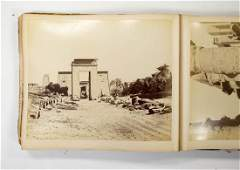 19th C. Photo Album Egypt, Japan A. Beato