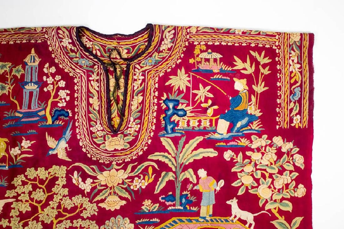 Antique Chinese Silk Double Embroidery, 1870-1900 - 3
