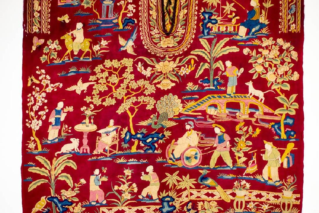 Antique Chinese Silk Double Embroidery, 1870-1900 - 4