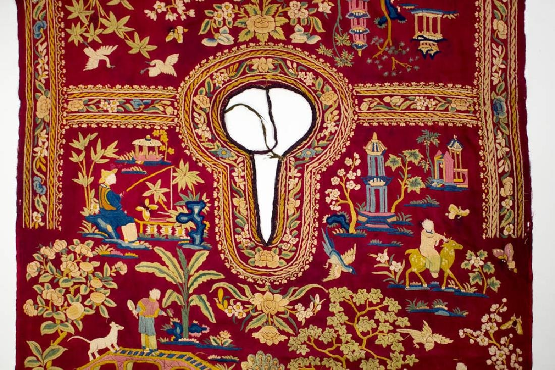 Antique Chinese Silk Double Embroidery, 1870-1900 - 7