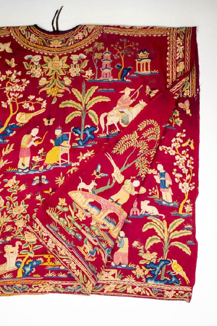 Antique Chinese Silk Double Embroidery, 1870-1900 - 9