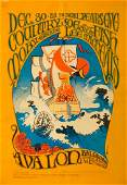 Country Joe & the Fish Concert Poster FD-41