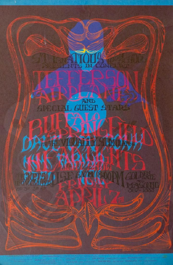 Psychedelic Concert Poster Test Print