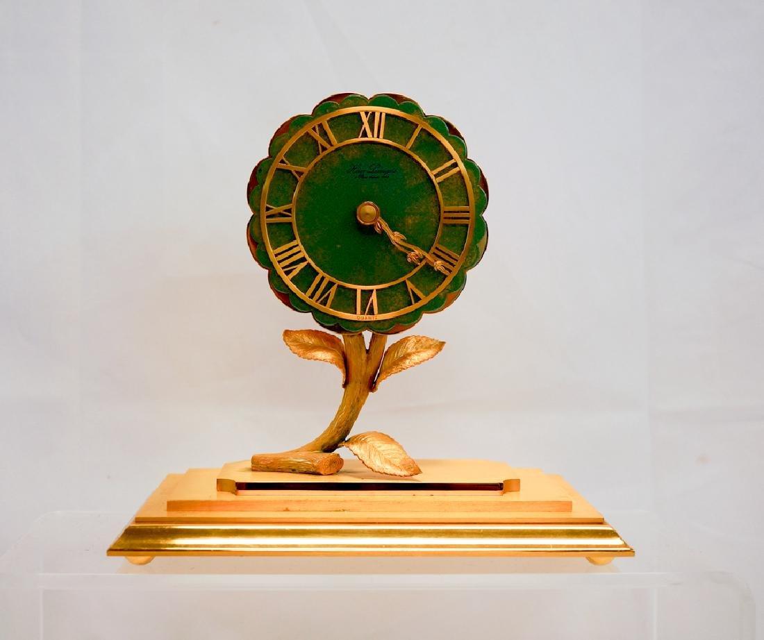 Hour Lavigne Floral Desk Clock - 2