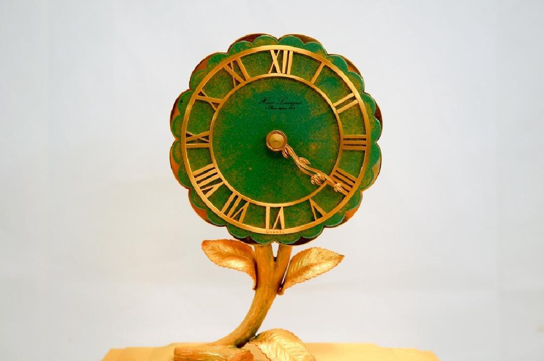 Hour Lavigne Floral Desk Clock - 3