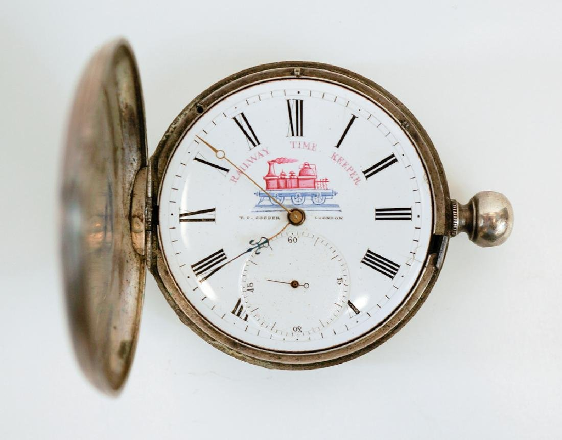 T.F. Cooper Railway Time Keeper Pocket Watch