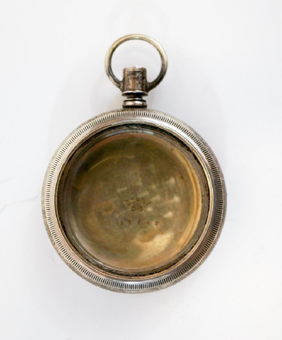 Streetcar Cable Car Conductor Pocket Watch Case - 2