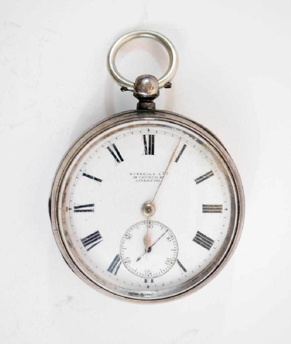 English Hallmarked Silver Russells Ltd. Watch
