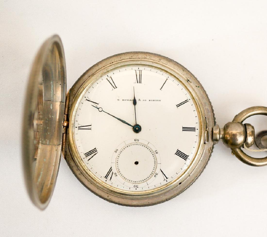 E. Howard & Co., Boston Coin Silver J.P. Floberg