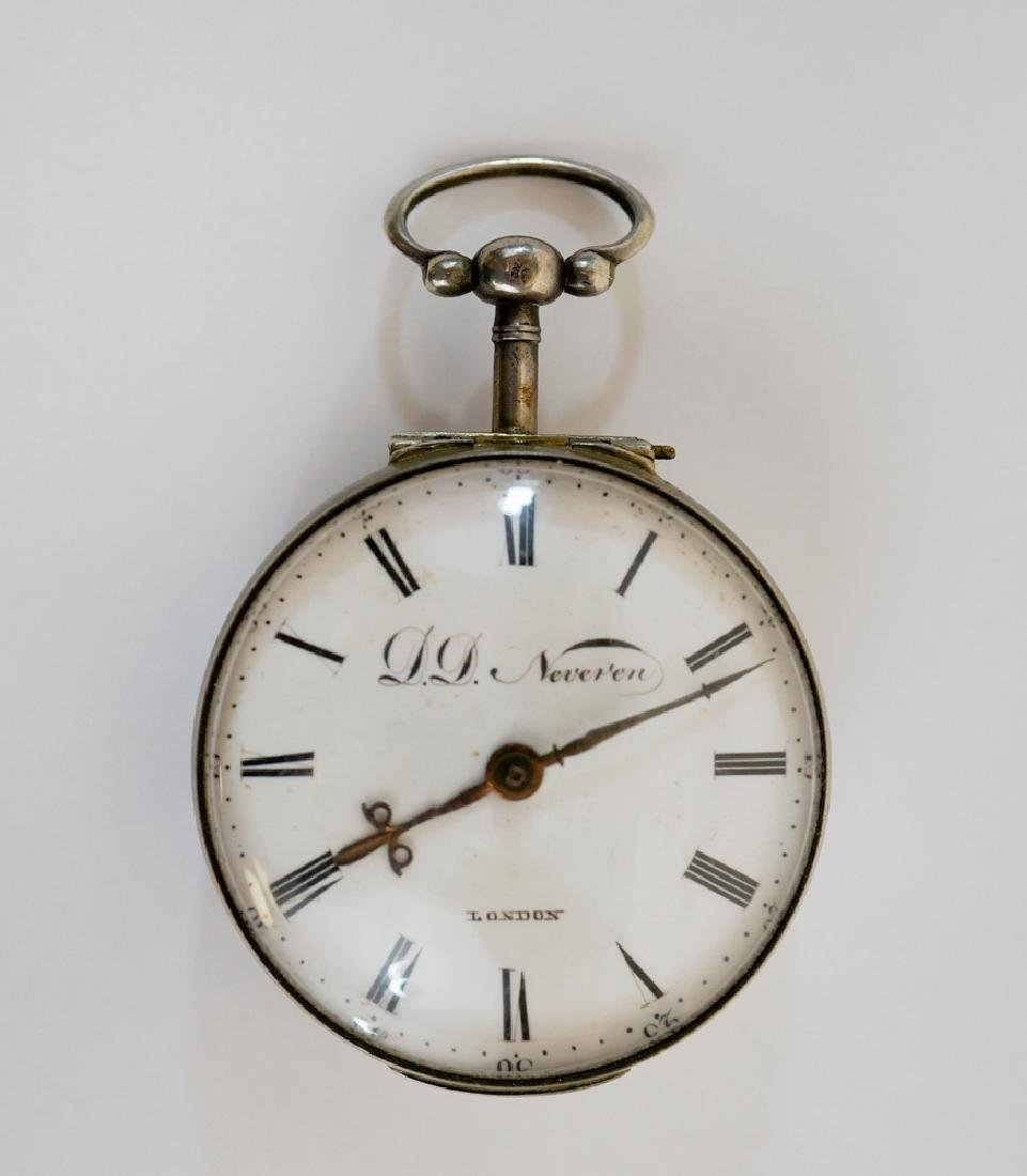 D.D. Neveren Antique Pocket Watch