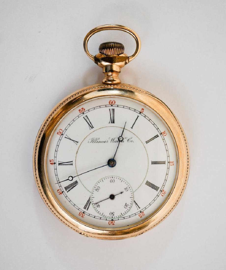 1899 Illinois Gold Filled Pocket Watch