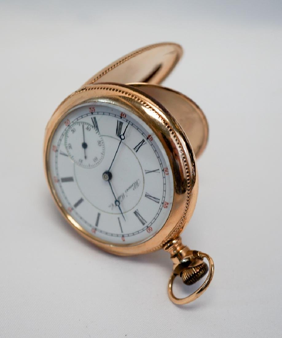 1899 Illinois Gold Filled Pocket Watch - 2