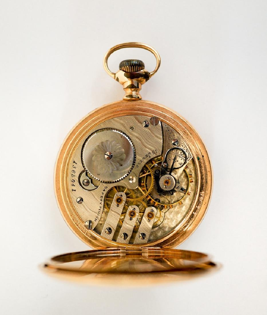 1899 Illinois Gold Filled Pocket Watch - 4