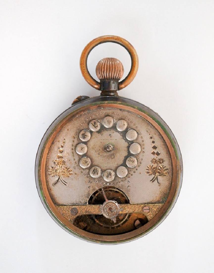 Antique Swiss Open-Faced Pocket Watch