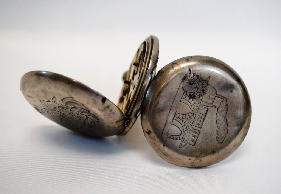 John Harrison Liverpool Railroad Pocket Watch