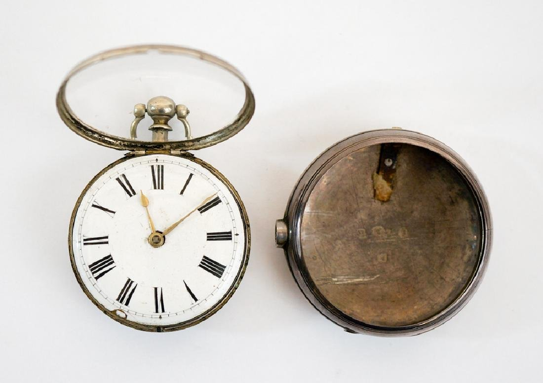 Dated 1865 English Sterling Pocket Watch