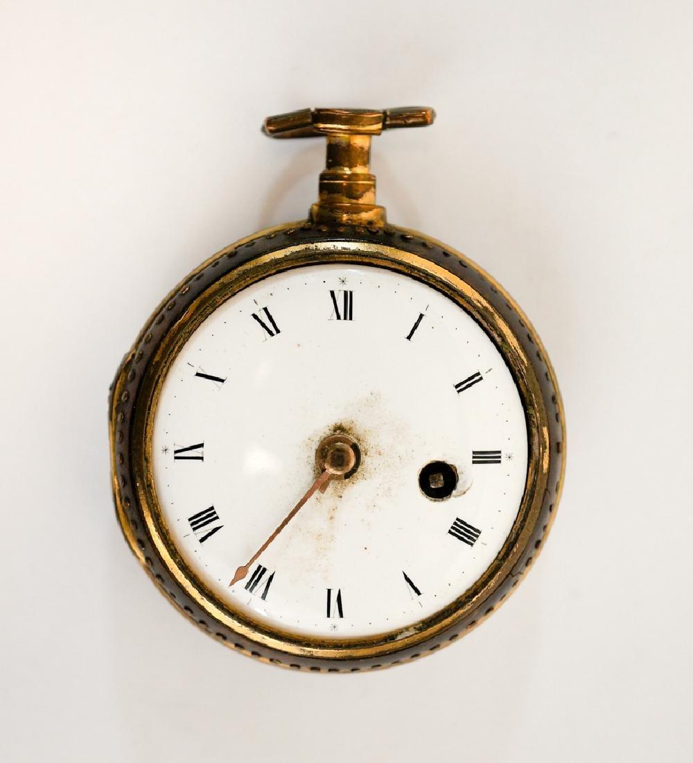 Antique English Key Wind Pocket Watch