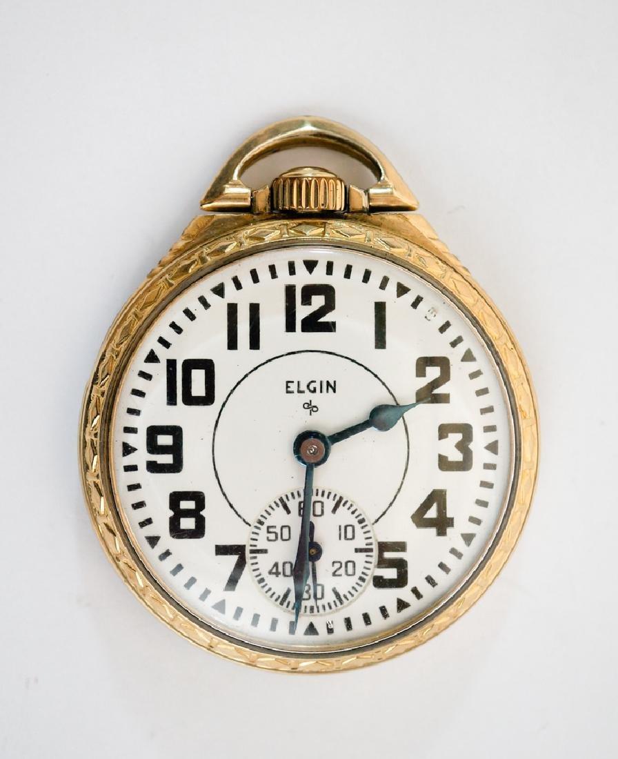 An Elgin B.W. Raymond 21 Jewels Pocket watch