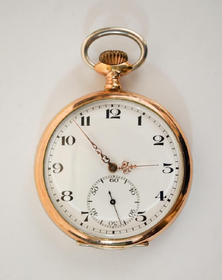 An Antique Swiss .800 Silver Pocket Watch