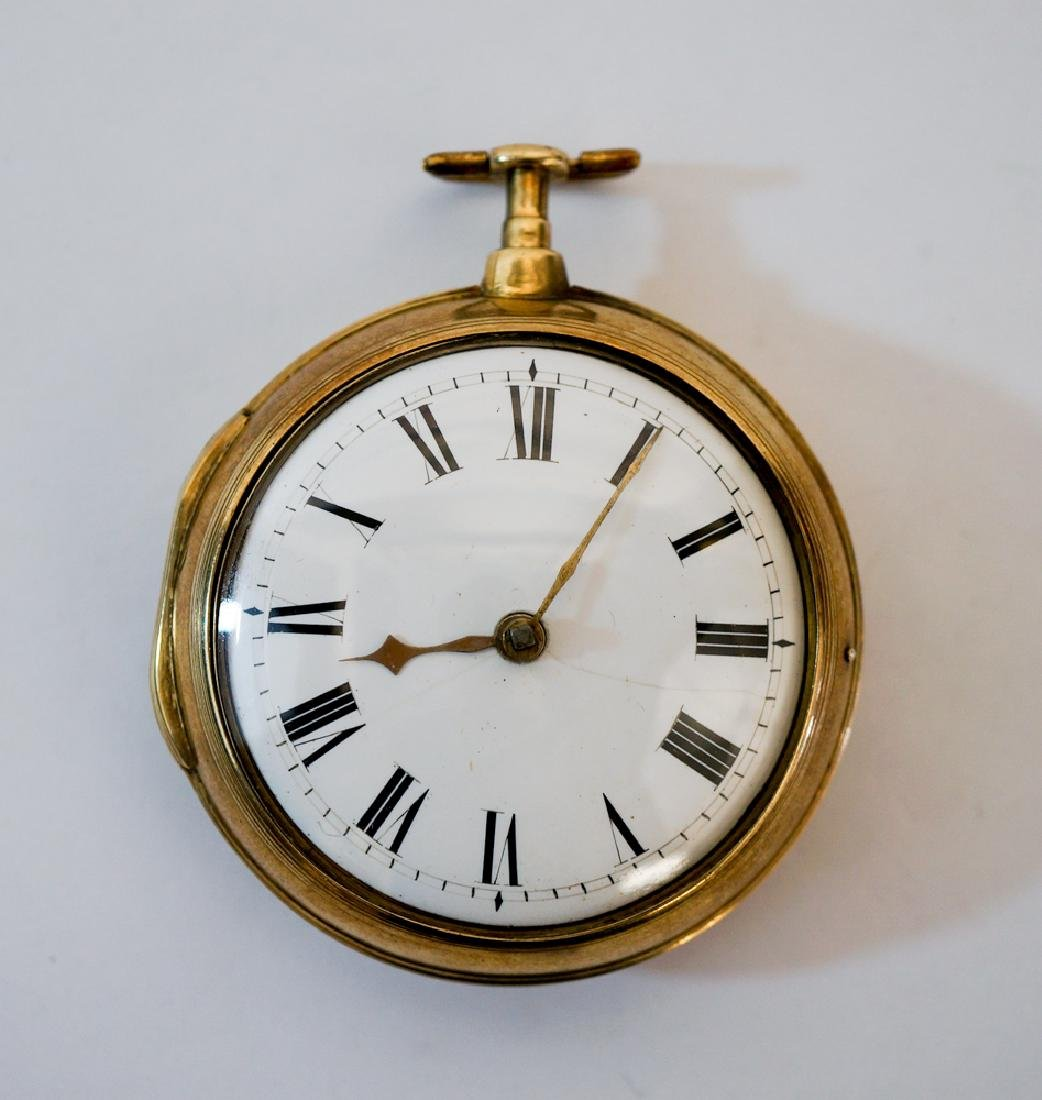 An English Silver Pocket Watch by Miller of London