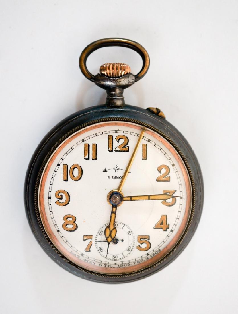 Antique Concord Swiss Pocket Alarm Clock Watch