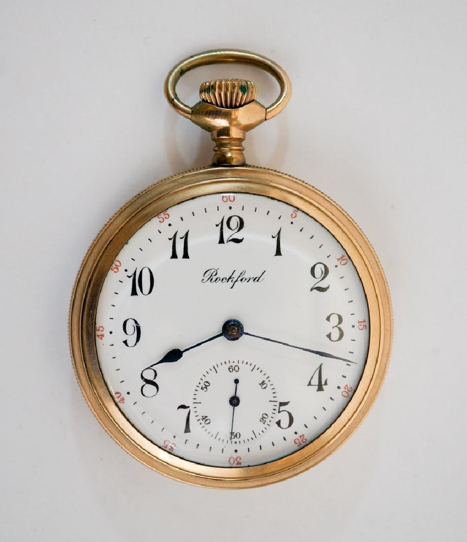 Rockford Gold Filled Hunter's Case Pocket Watch