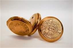Waltham 14K Gold Hunting Case Pocket Watch