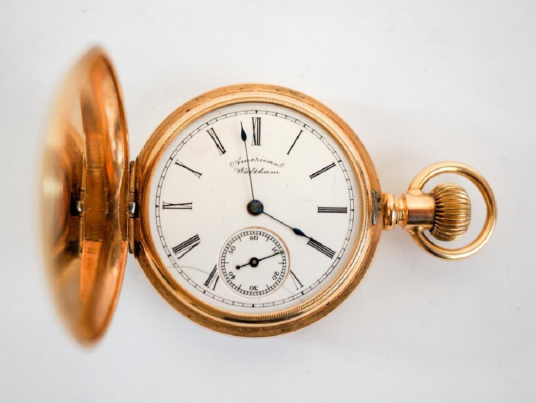 Waltham 14K Solid Gold Pocket Watch