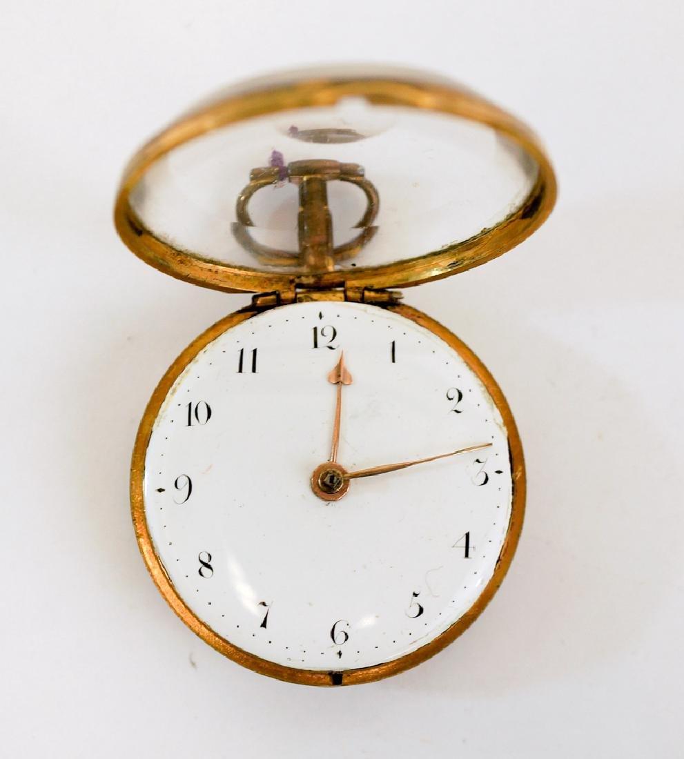 An Early Key Wind Pocket Watch Signed J.K.