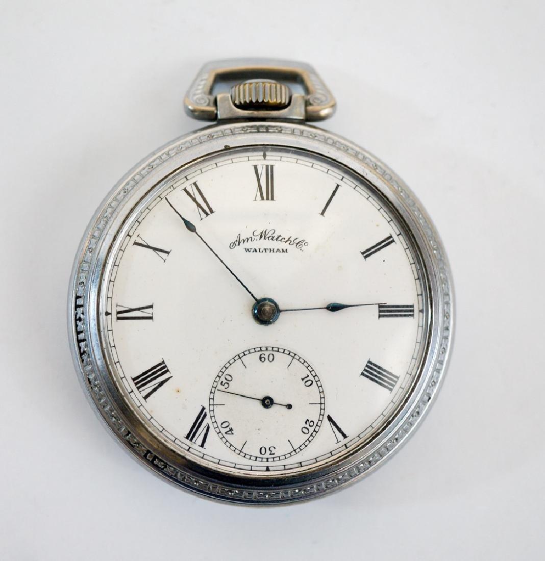 Waltham Model 1883 Pocket Watch Size 18